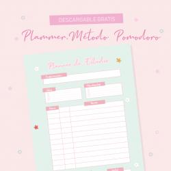 Planner Metodo Pomodoro