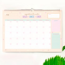 Planner Mensual Pared A3